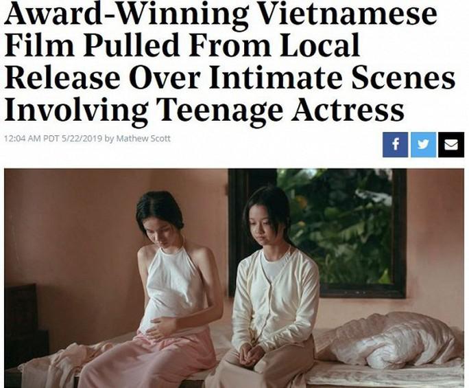 Vụ phim Vợ ba ngừng chiếu lên báo Mỹ - Ảnh 1.