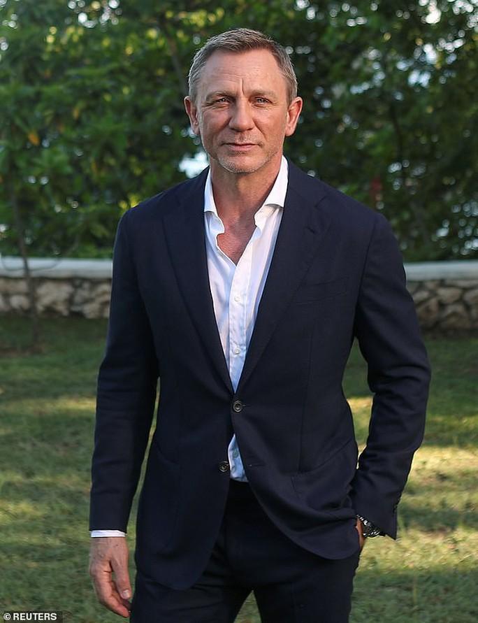 """""""Điệp viên 007"""" Daniel Craig bị thương trên trường quay - Ảnh 1."""