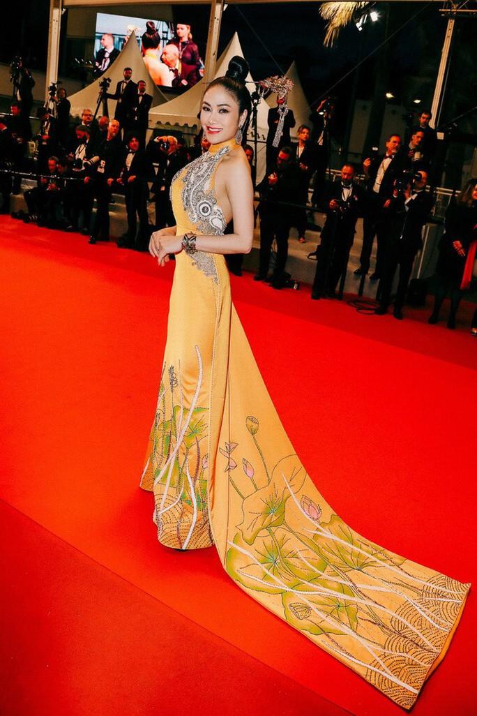 Trương Thị May đẹp hút hồn trên thảm đỏ Cannes - Ảnh 6.