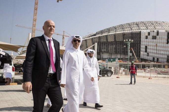 Đối đầu chủ tịch Infantino, FIFA từ chối World Cup 2022 có 48 đội tham dự - Ảnh 2.