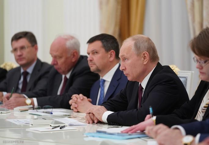 Thủ tướng Nguyễn Xuân Phúc hội kiến Tổng thống Nga Putin - Ảnh 3.