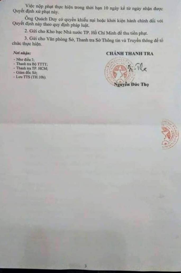 Một chuyên viên Văn phòng UBND TP HCM bị phạt do xúc phạm lãnh đạo - Ảnh 3.
