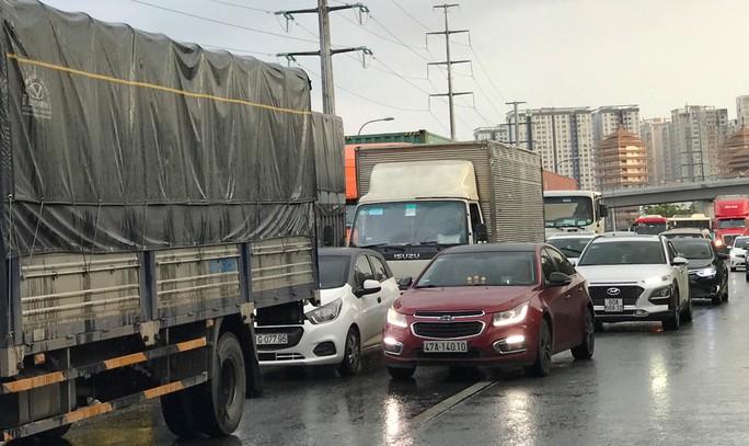 Chạy bộ qua đường, 1 Việt kiều bị xe container cán chết trên xa lộ Hà Nội - Ảnh 2.