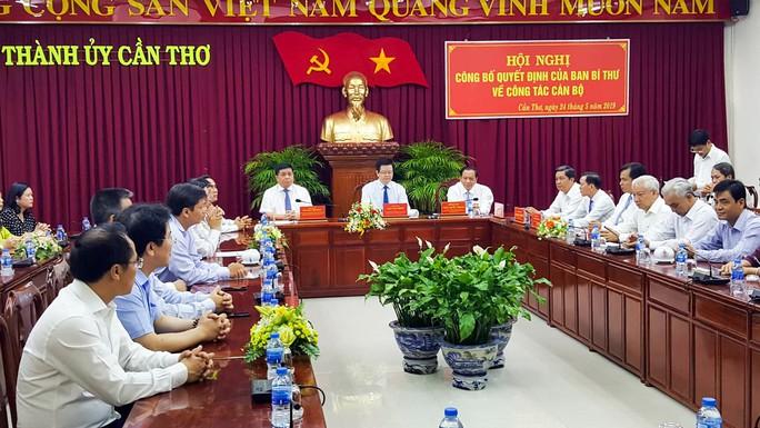 Thứ trưởng Lê Quang Mạnh giữ chức Phó Bí thư Thành ủy TP Cần Thơ - Ảnh 2.