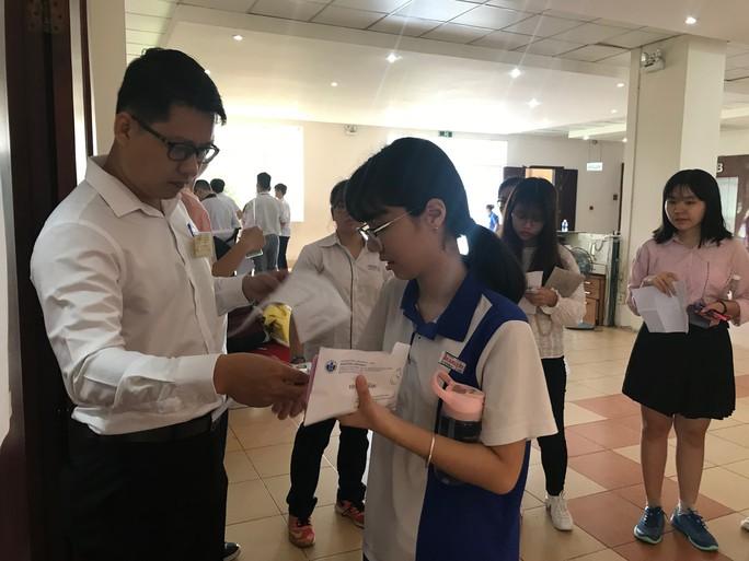 3.700 thí sinh dự thi đánh giá năng lực vào Trường ĐH Quốc tế - Ảnh 1.