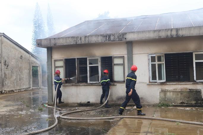 Hỏa hoạn thiêu rụi 7 gian nhà kho nghiên cứu thực nghiệm dâu tằm Lâm Đồng - Ảnh 4.