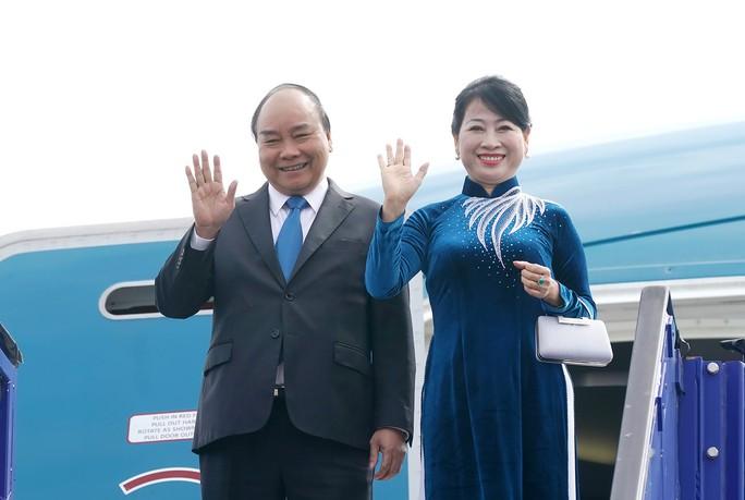 Thủ tướng Nguyễn Xuân Phúc bắt đầu chuyến thăm chính thức Thụy Điển - Ảnh 1.