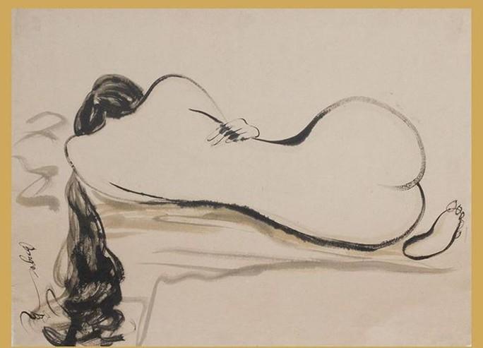 Cận cảnh bức tranh khỏa thân giá triệu USD của họa sĩ Lê Phổ - Ảnh 6.
