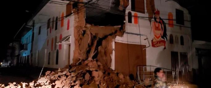Động đất 8 độ ở Peru - Ảnh 1.