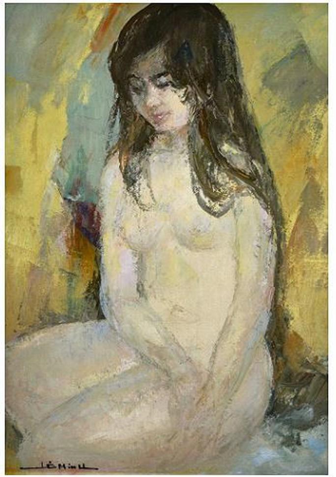 Cận cảnh bức tranh khỏa thân giá triệu USD của họa sĩ Lê Phổ - Ảnh 7.