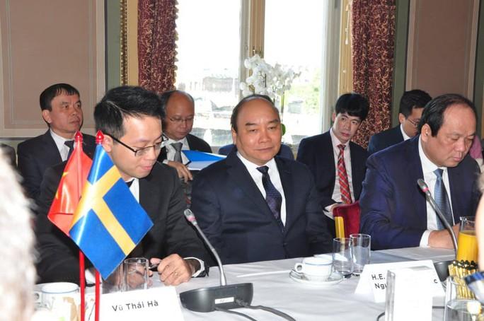 Thủ tướng lắng nghe và trao đổi với hàng loạt tập đoàn hàng đầu Thụy Điển - Ảnh 3.