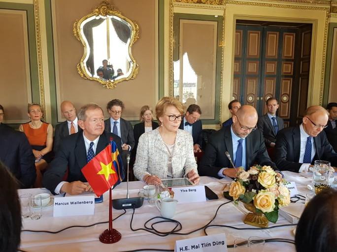 Thủ tướng lắng nghe và trao đổi với hàng loạt tập đoàn hàng đầu Thụy Điển - Ảnh 2.