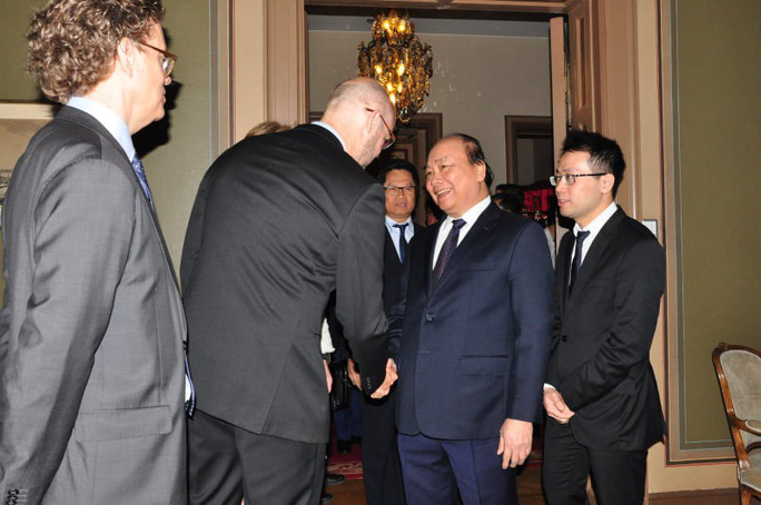 Thủ tướng lắng nghe và trao đổi với hàng loạt tập đoàn hàng đầu Thụy Điển - Ảnh 1.
