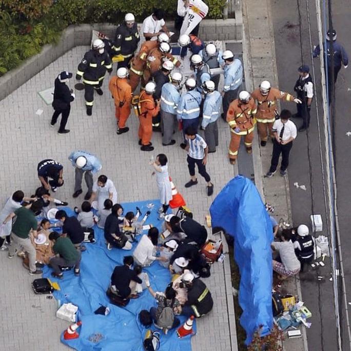 Nhật Bản: 2 người chết, 17 người bị thương trong vụ tấn công bằng dao - Ảnh 4.