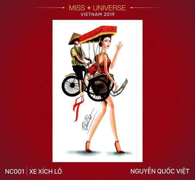 Chết cười với trang phục bàn thờ thiết kế cho thí sinh Hoa hậu Hoàn vũ - Ảnh 9.