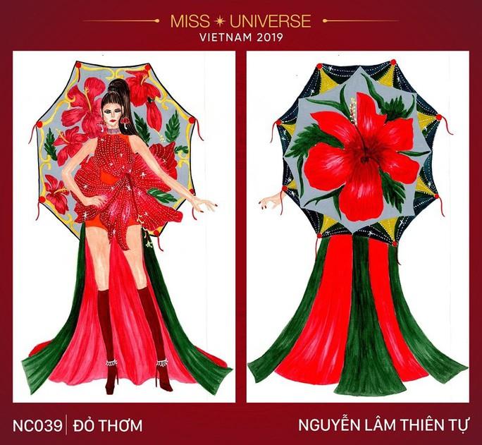Chết cười với trang phục bàn thờ thiết kế cho thí sinh Hoa hậu Hoàn vũ - Ảnh 7.