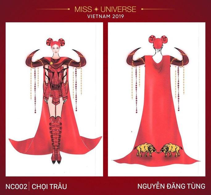 Chết cười với trang phục bàn thờ thiết kế cho thí sinh Hoa hậu Hoàn vũ - Ảnh 5.