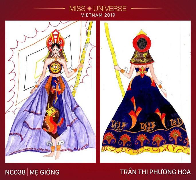 Chết cười với trang phục bàn thờ thiết kế cho thí sinh Hoa hậu Hoàn vũ - Ảnh 6.