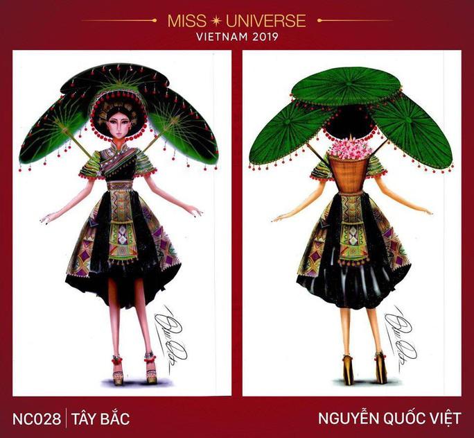 Chết cười với trang phục bàn thờ thiết kế cho thí sinh Hoa hậu Hoàn vũ - Ảnh 4.