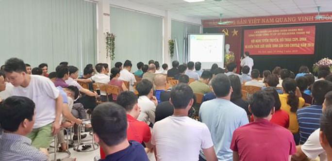 Hà Nội: Tuyên truyền chính sách BHXH cho công nhân - Ảnh 1.