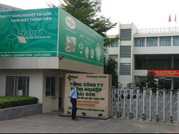 1 lãnh đạo Sở NN&PTNT TP HCM dính đến sai phạm tại Tổng Công ty Nông nghiệp Sài Gòn - Ảnh 1.