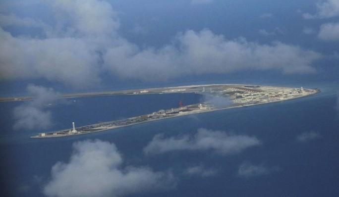 Lầu Năm Góc: Trung Quốc quân sự hóa biển Đông quá mức - Ảnh 1.