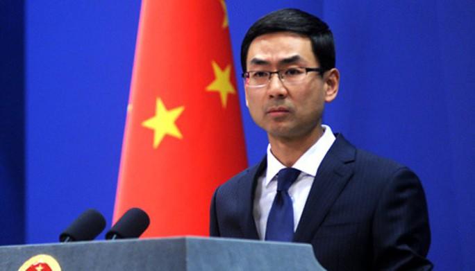 Trung Quốc lại khẩu chiến với Mỹ - Ảnh 1.