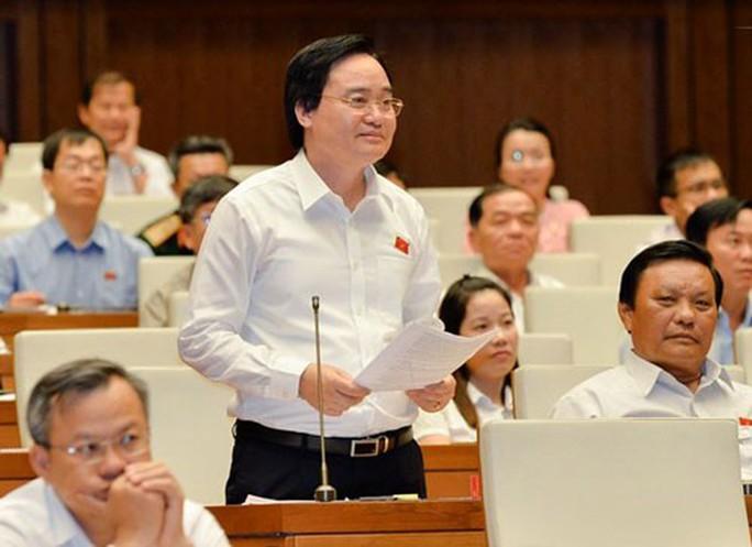 Vụ gian lận thi cử kỳ thi THPT quốc gia 2018:  Bộ trưởng Phùng Xuân Nhạ nhận trách nhiệm - Ảnh 1.