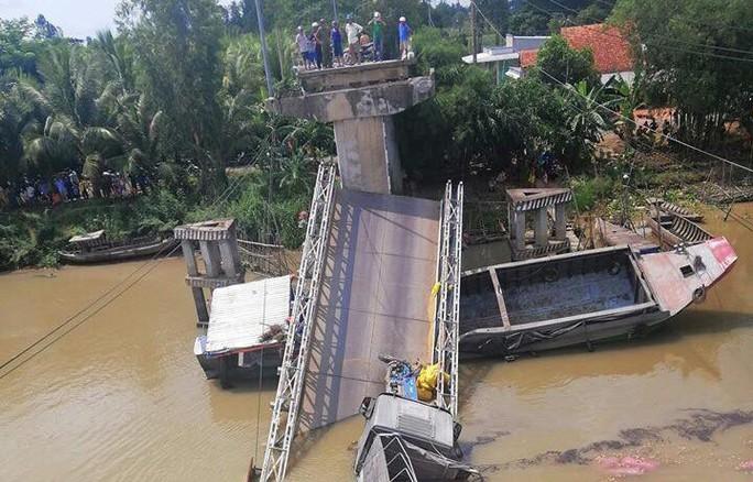 Bộ trưởng GTVT có công điện khẩn sau vụ cầu BOT bị sập  - Ảnh 3.