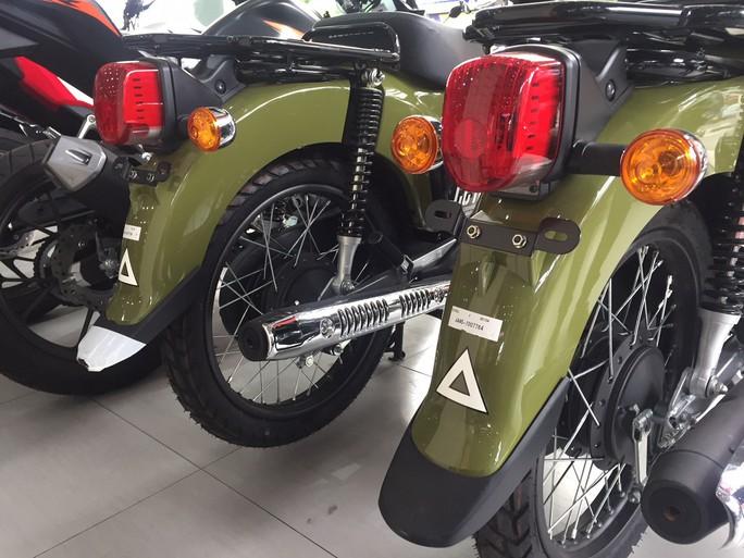 Nhiều mẫu xe máy lạ - Ảnh 3.