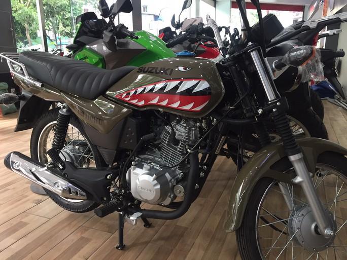 Nhiều mẫu xe máy lạ - Ảnh 8.