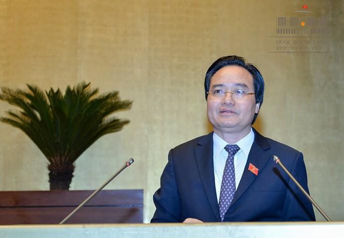 Bộ trưởng Phùng Xuân Nhạ nhận trách nhiệm về gian lận thi cử - Ảnh 1.