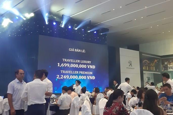 Thaco ra mắt xe đa dụng châu Âu Peugeot Traveller giá 1,7 tỉ đồng - Ảnh 7.