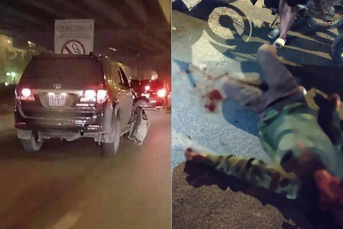 Xác minh bất ngờ về xe biển xanh 80A tông trọng thương người lái xe ôm rồi bỏ chạy - Ảnh 1.