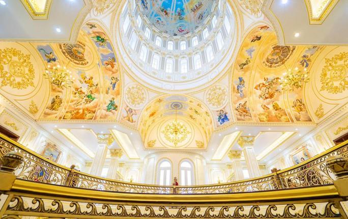Xôn xao trước dinh thự ở Thanh Hóa có toàn bộ nội thất mạ vàng - Ảnh 3.