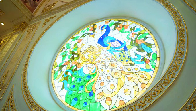 Xôn xao trước dinh thự ở Thanh Hóa có toàn bộ nội thất mạ vàng - Ảnh 4.