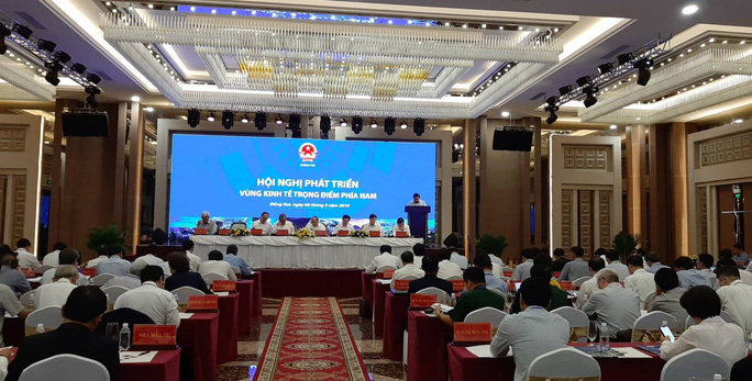 Thủ tướng chủ trì hội nghị phát triển Vùng kinh tế trọng điểm phía Nam - Ảnh 2.