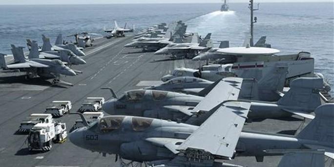 Mỹ triển khai lực lượng bất khả chiến bại răn đe Iran  - Ảnh 1.