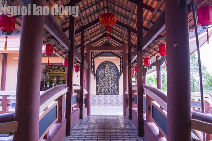 Chiêm ngưỡng ngôi chùa vùng biên giới có tượng Phật cao nhất miền Tây - Ảnh 18.