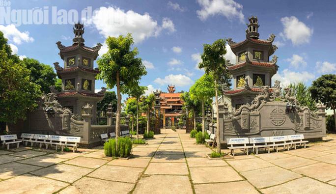Chiêm ngưỡng ngôi chùa vùng biên giới có tượng Phật cao nhất miền Tây - Ảnh 7.