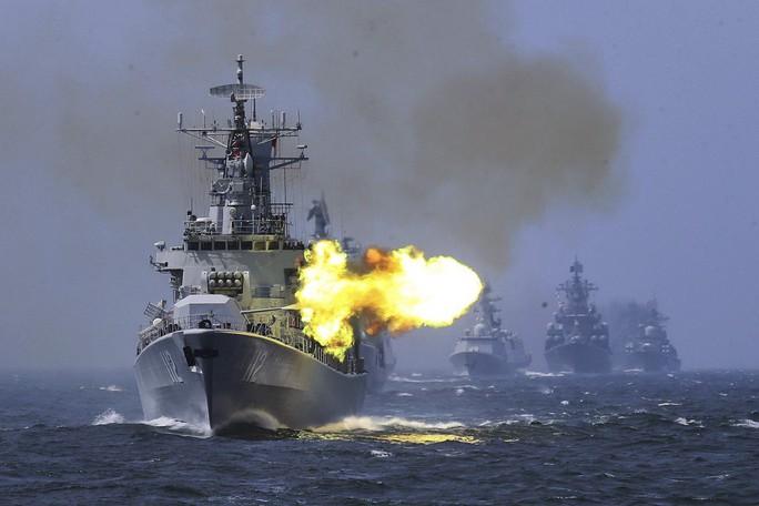 Trung Quốc tập trận bắn đạn thật gần eo biển Đài Loan  - Ảnh 1.