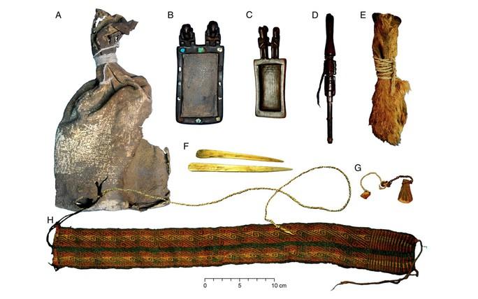 Phát hiện túi ma dược ngàn năm trong mộ cổ - Ảnh 4.