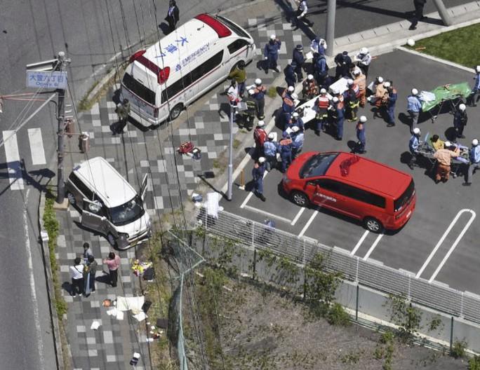 Nhật Bản: Xe hơi lao vào nhóm trẻ mẫu giáo, 15 người nhập viện - Ảnh 1.