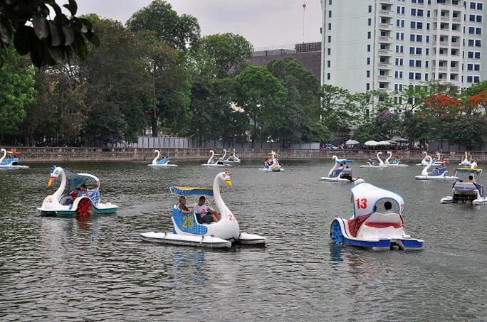 Hà Nội quyết lấy hơn 16.000 m2 đất công viên Thủ Lệ làm bãi xe ngầm 5 tầng - Ảnh 1.
