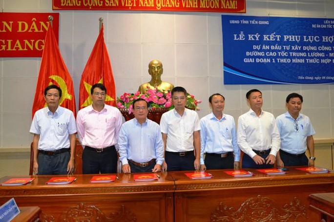Dự án cao tốc Trung Lương - Mỹ Thuận được ký kết thêm phụ lục - Ảnh 1.