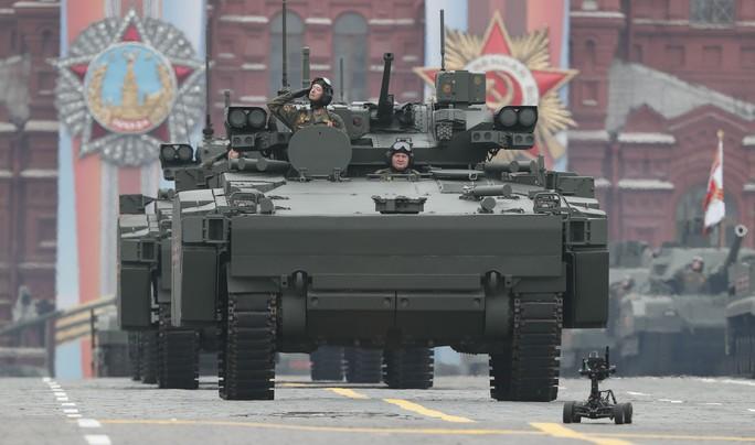 Nga diễu binh rầm rộ mừng Ngày Chiến thắng - Ảnh 6.