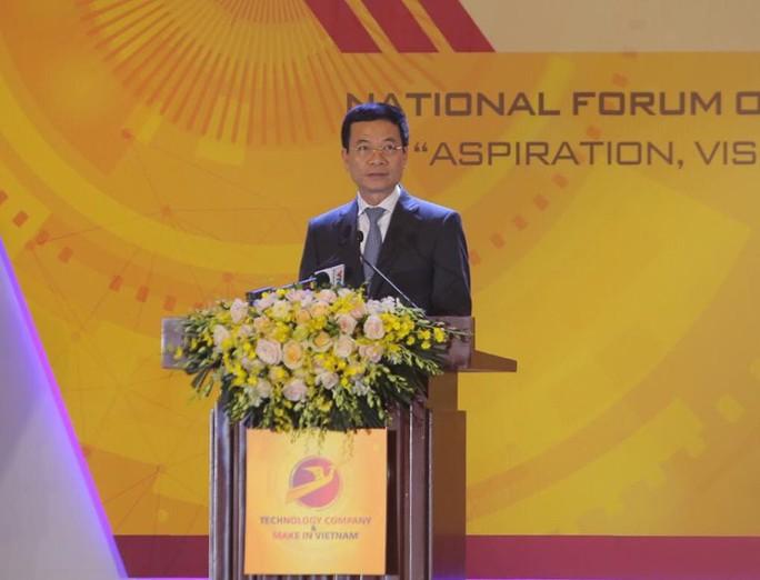 Bộ trưởng Nguyễn Mạnh Hùng: Mỗi người cần có ngôn ngữ IT để giao tiếp với máy móc - Ảnh 2.