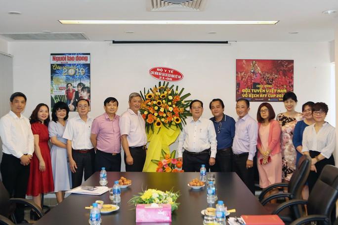 Bộ Y tế chúc mừng Báo Người Lao Động nhân Ngày Báo chí Cách mạng VN - Ảnh 3.