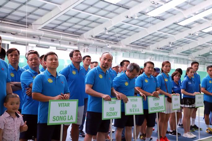 Tưng bừng Giải Quần vợt ViTAR Open 2019 - Ảnh 1.