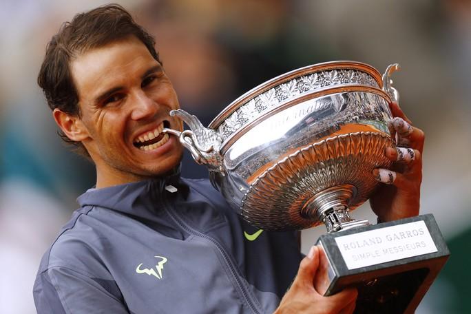 Nadal lần thứ 12 vô địch Pháp mở rộng, đe dọa kỷ lục của Federer - Ảnh 4.